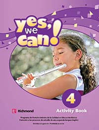 Yes, We Can! 4 Cuaderno de Actividades, Editorial: Richmond Publishing, Nivel: Primaria, Grado: 4
