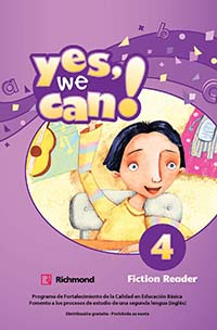 Yes, We Can! 4 Libro de Lectura, Editorial: Richmond Publishing, Nivel: Primaria, Grado: 4