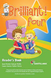 Brilliant! Four Libro de Lectura, Editorial: Santillana, Nivel: Primaria, Grado: 4