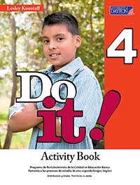 Do it! 4 Cuaderno de Actividades, Editorial: University of Dayton Publishing, Nivel: Primaria, Grado: 4