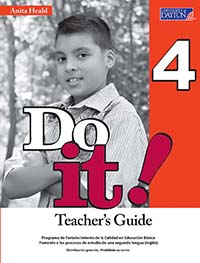 Do It! 4 Guía Didáctica, Editorial: University of Dayton Publishing, Nivel: Primaria, Grado: 4