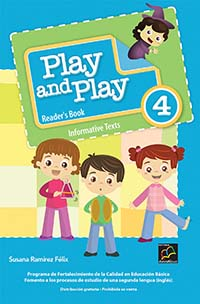Play and Play 4 Libro de Lectura, Editorial: Nuevo México, Nivel: Primaria, Grado: 4